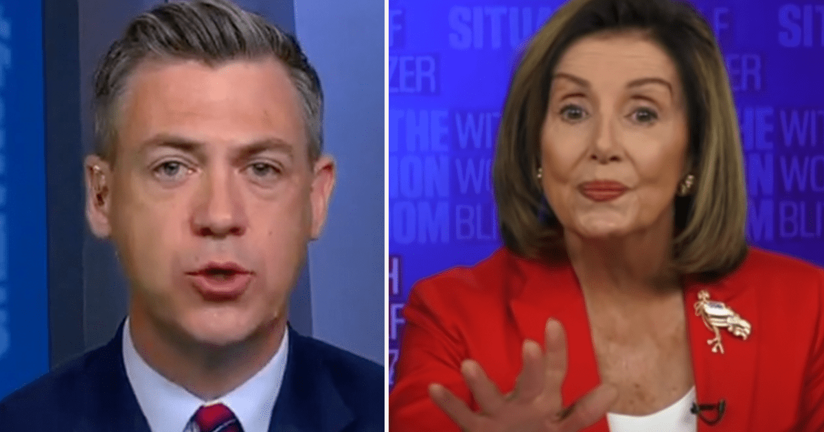WATCH: Banks says Pelosi booted him because key question she doesn't want him to ask