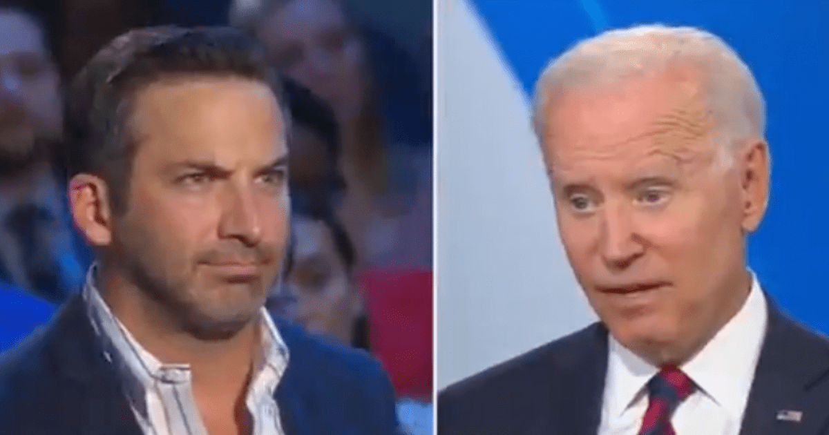 """WATCH: Biden raises eyebrows after telling small business owner his industry is """"really going to be in a bind for a little while"""""""
