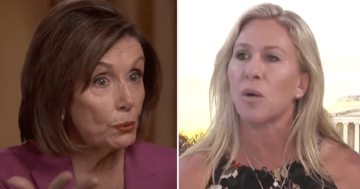 """WATCH: Greene calls for Vacating the Chair of Pelosi, calls her """"Unfit to Serve"""""""