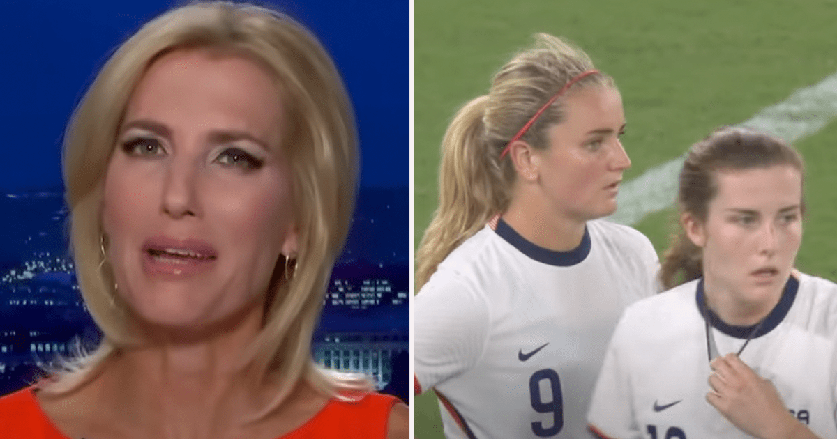 """Laura rips U.S. Women's Soccer Team after their anthem kneeling and 3-0 loss """"their woke brands are joke brands"""""""