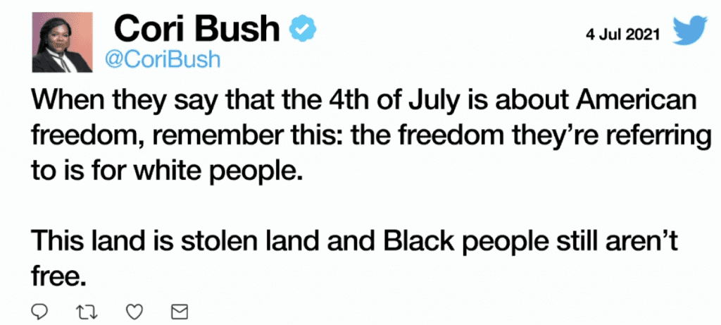 """Cruz fires back at Cori Bush's """"stolen land"""" July 4th tweet, says """"the Left hates America. Believe them when they tell you this"""""""
