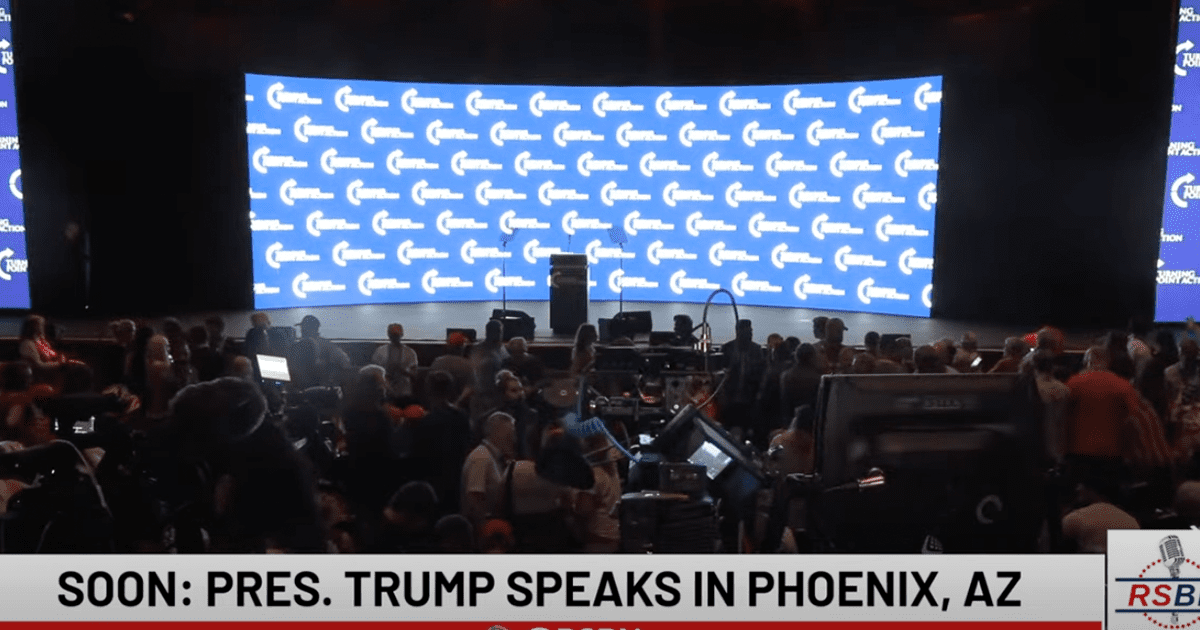 """WATCH LIVE: Trump set to speak in Arizona at """"Rally To Protect Our Elections"""""""