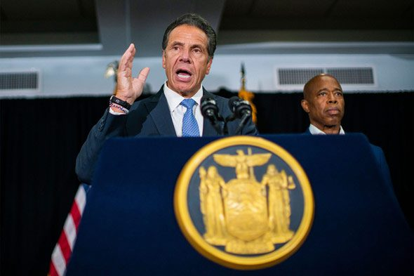 ny gov  andrew cuomo  a democrat  is now off the hook for the deaths of elderly residents