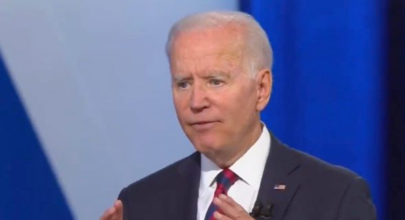 biden said his administration will push to ban the sale of handguns in america