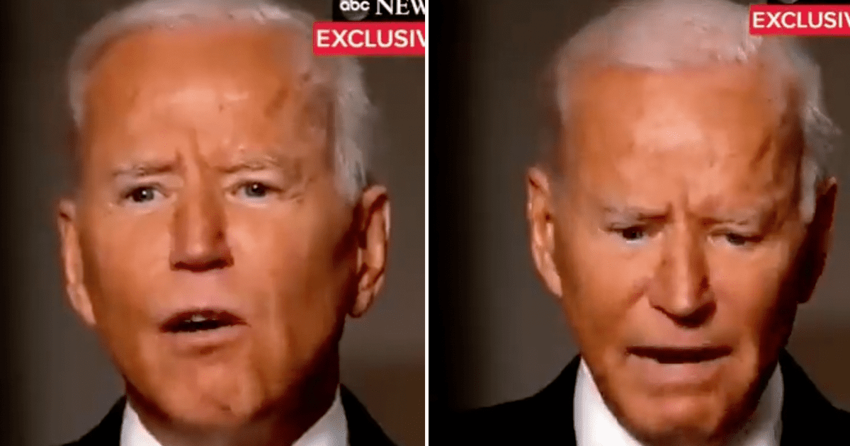 """WATCH: Biden claims Afghanistan """"chaos"""" was unavoidable """"look, I don't think it was a failure,"""""""