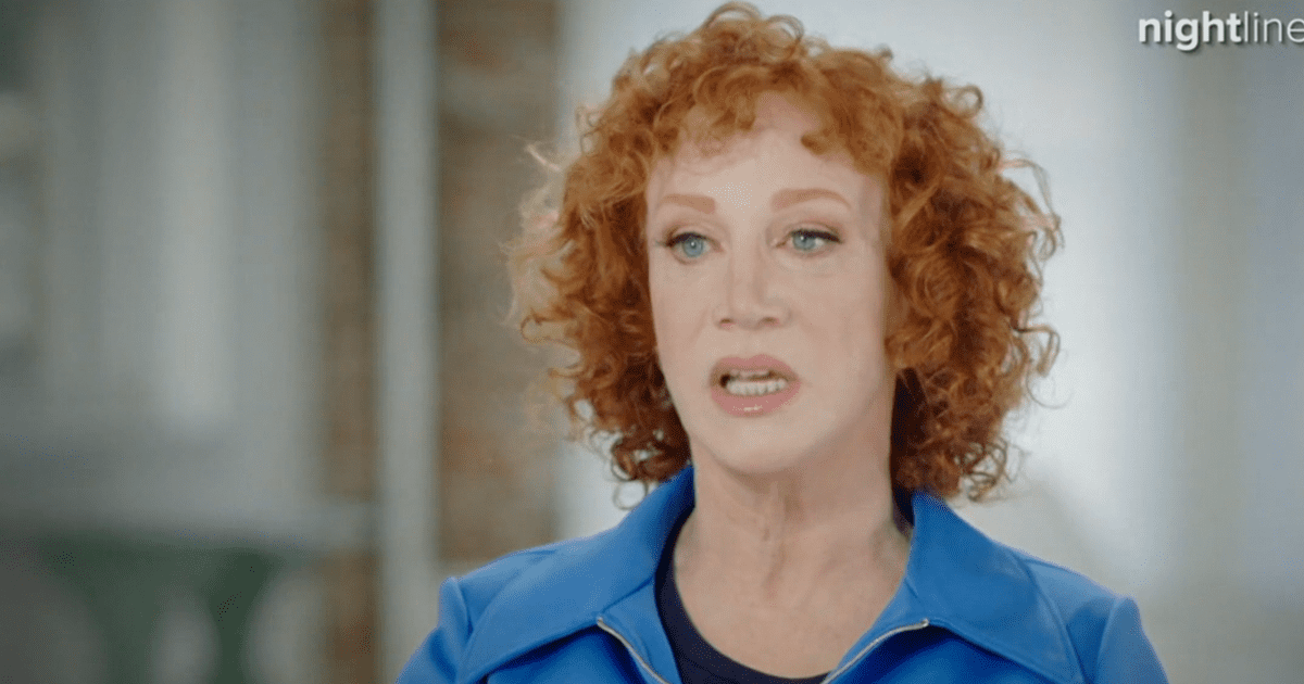 """WATCH: Kathy Griffin says pill addiction started """"when the Trump thing happened"""""""