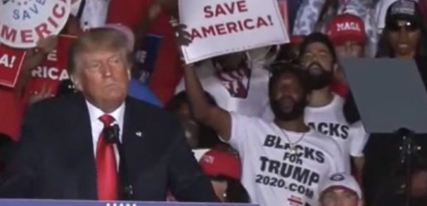 RACIST left wing Twitter mob on WARPATH against Blacks for Trump. MSNBC is, too.