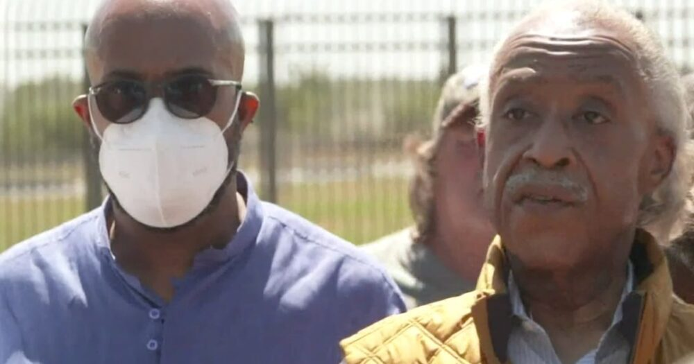 Watch: Al Sharpton Gets Thrown Out Of His Own Border Press Conference, 'Nobody Wants You Here!'