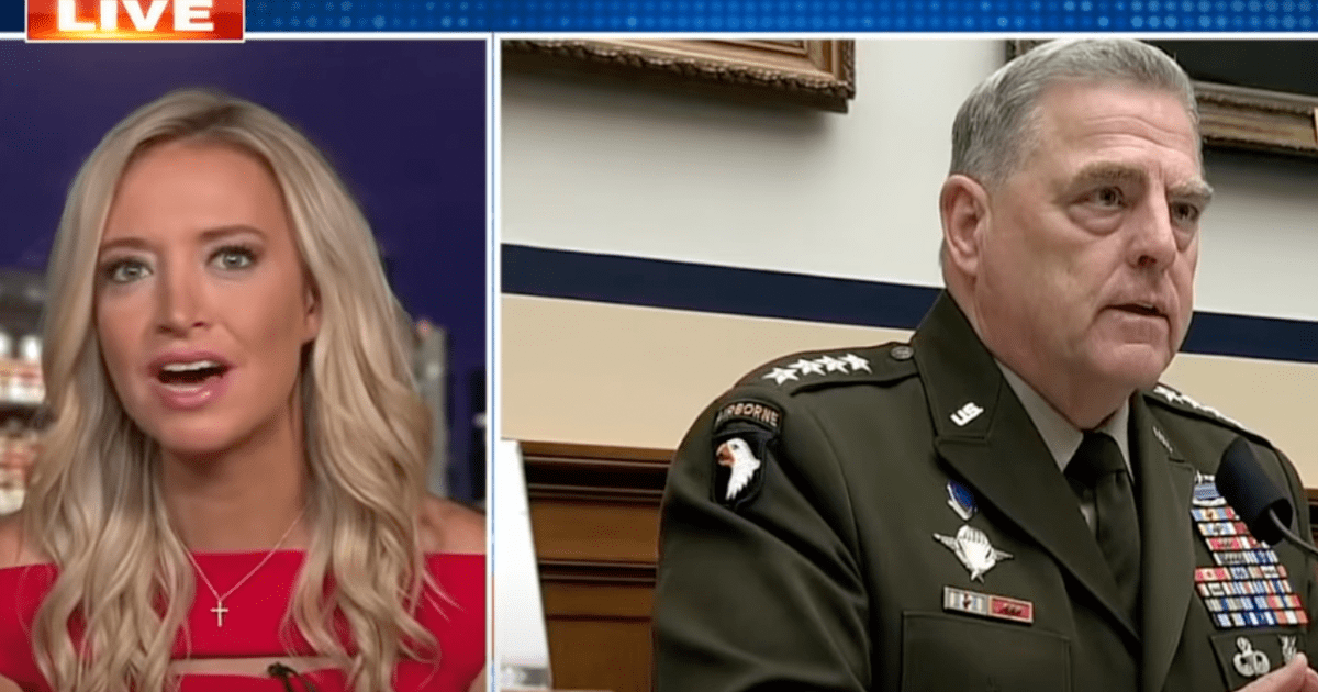 """WATCH: Kayleigh says Trump was right, the """"Deep State"""" was indeed after him"""