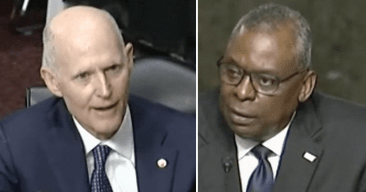 WATCH: Sen. Scott asks Sec. Austin why they failed to get all Americans out of Afghanistan