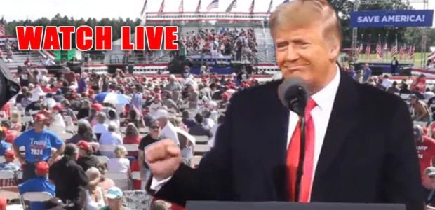 WATCH LIVE NOW: DONALD TRUMP HOLDS 'SAVE AMERICA RALLY' IN GEORGIA