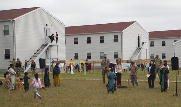 fort mccoy is current housing 12 500 afghan refugees with thousands more on the way