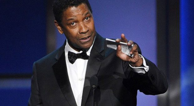 denzel washington is one of the rare outspoken christians in hollywood