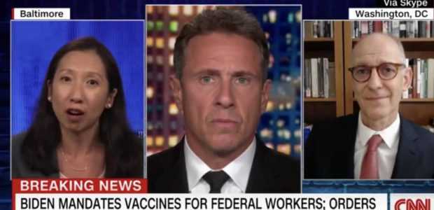CNN doctor compares the unvaccinated to drunk drivers, says they should NOT be allowed to go out in public