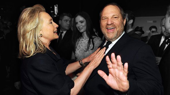 hillary clinton s close relationship with rapist harvey weinstein has come under mounting scrutiny
