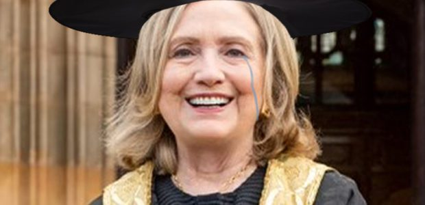 Hashtag: Backfire! Hillary touts new title, IN LIEU OF one she spent her LIFE pursuing, and Hill-ARITY ensues