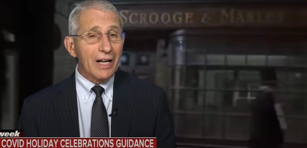 Who gets the COAL in their stocking? Press can't stop asking FAUCI who is ALLOWED to have HOLIDAYS
